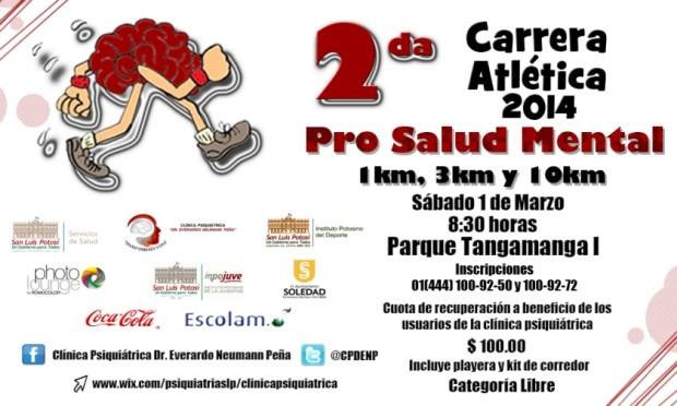 2a Carrera Atlética Pro Salud Mental @ Parque Tangamanga I | San Luis Potosí | San Luis Potosí | México