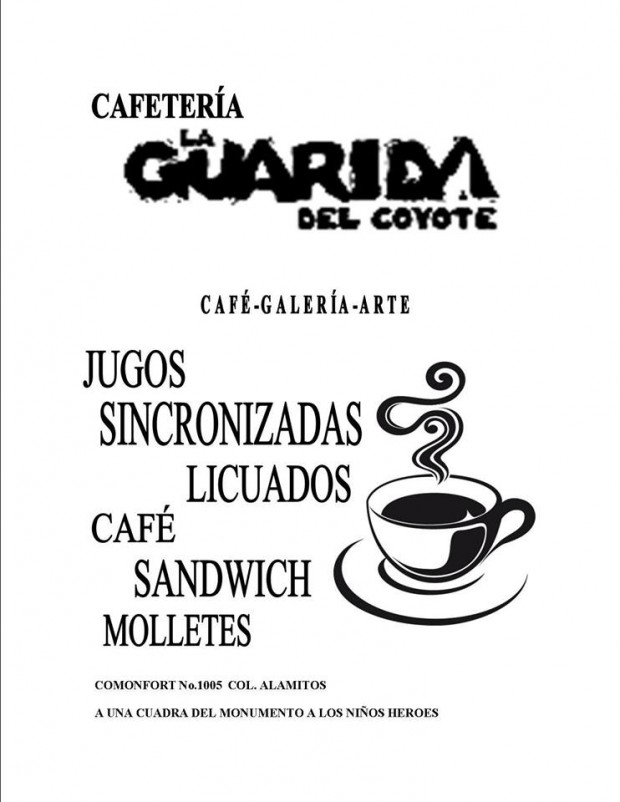 la guarida del coyote café
