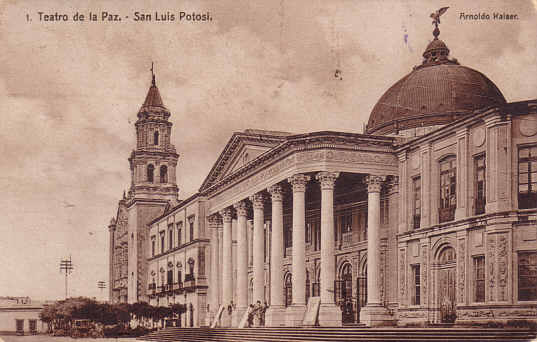teatro de la paz foto antigua