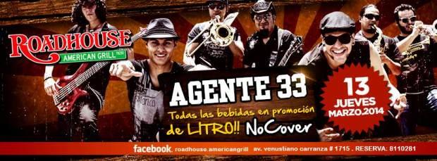 Agente 33 13 marzo