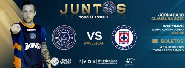 atletico san luis vs cruz azul