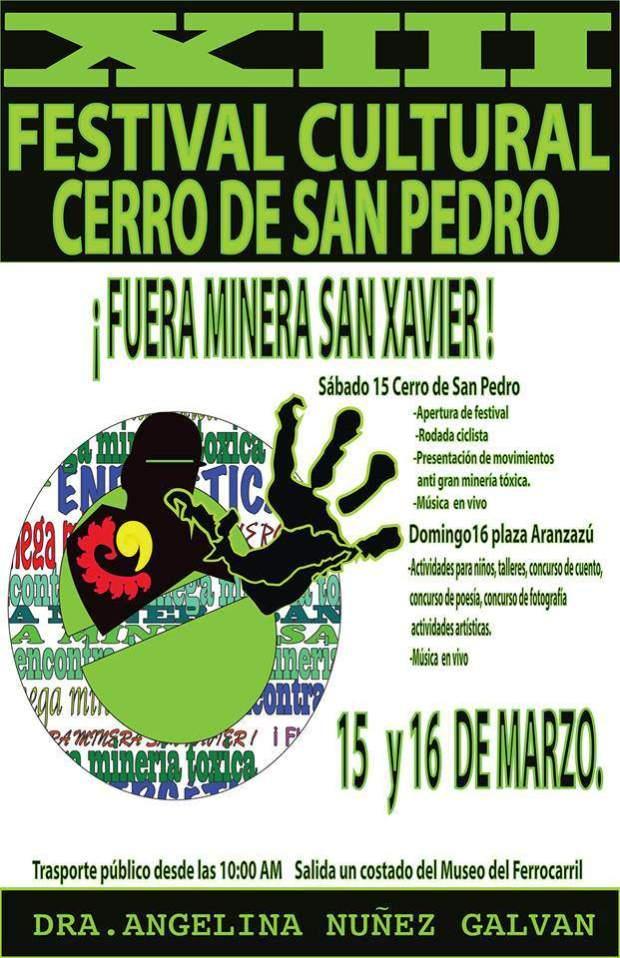XIII Festival Cultural Cerro de San Pedro @ Cerro de San Pedro | Cerro de San Pedro | San Luis Potosí | México