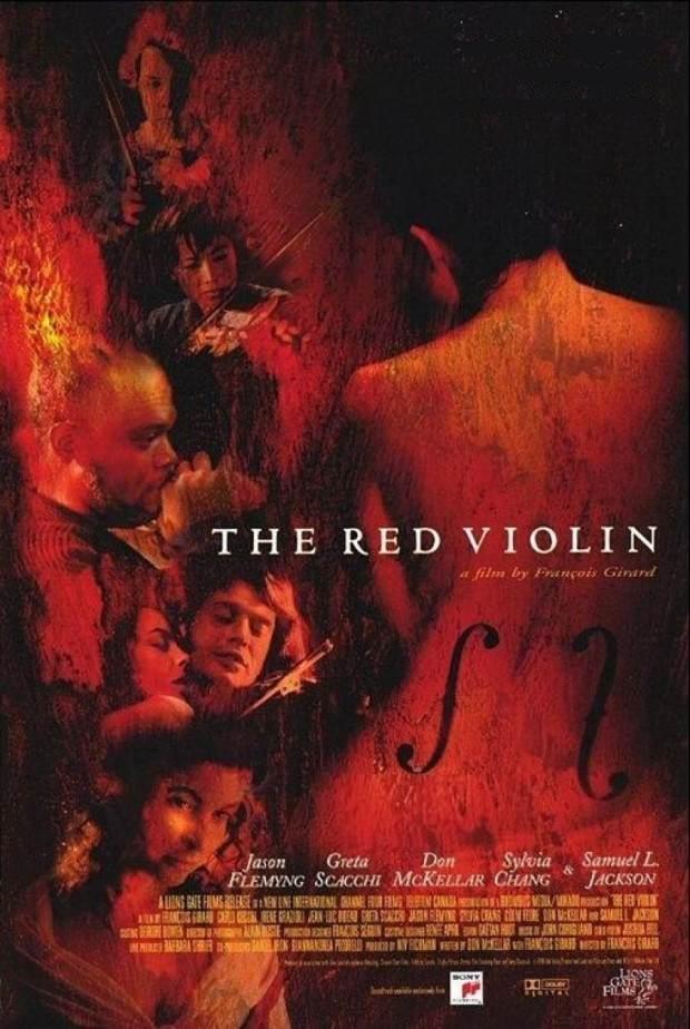 el violin rojo poster
