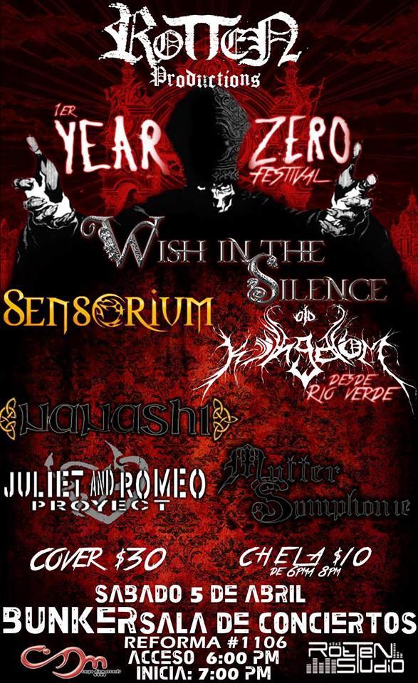 1 year zero festival