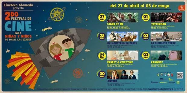 2 ciclo de cine para niños