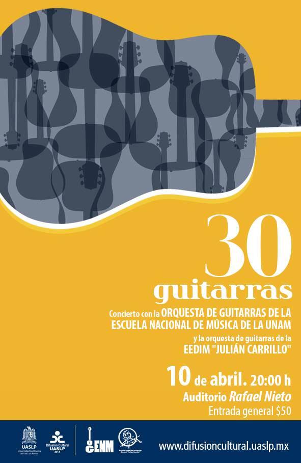 30 guitarras