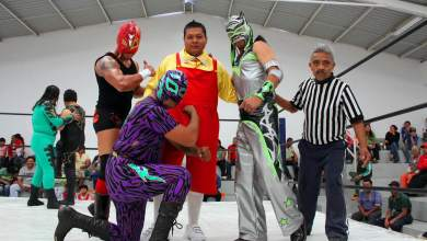 Photo of Lucha Libre a benefició de la colonia Independencia