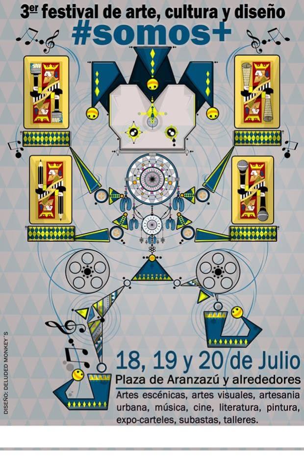 Festival Somos + 2014 @ Plaza de Aránzazu | San Luis Potosí | San Luis Potosí | México