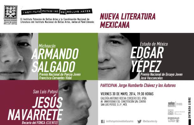 INVITACI[ON DIGITAL LAS NUEVA LITERATURA MEXICANA 1