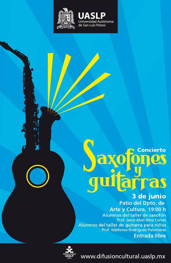 concierto saxofones y guitarras