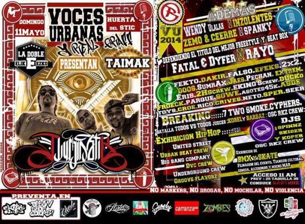 Festival Voces Urbanas @ Huerta del STIC | San Luis Potosí | San Luis Potosí | México