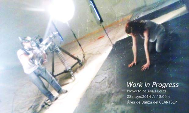 Work in Progrss - Proyecto de Anais Bouts @ Centro de las Artes de San Luis Potosí