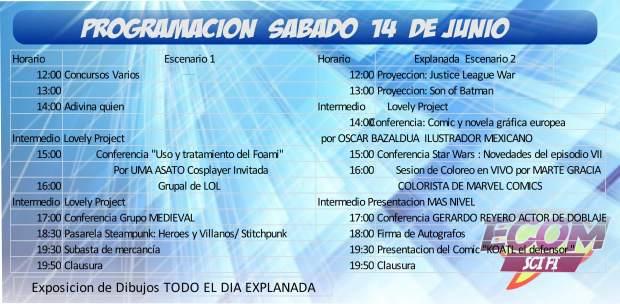 Ecom Sci Fi 2014 sábado