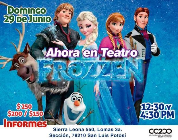 Frozen en San Luis Potosí