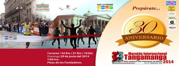 Maraton Internacional Tangamanga 2014 @ Plaza de los Fundadores | San Luis Potosí | San Luis Potosí | México