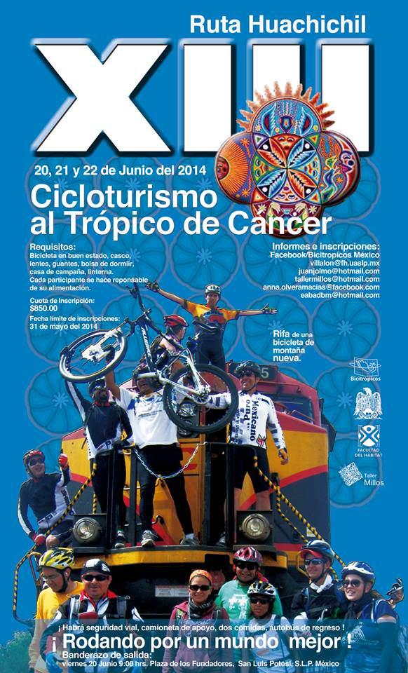 cicloturismo al tropico de cáncer