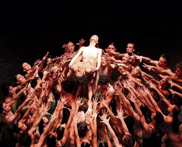 Le sacre du printemps Choregraphie Maurice Bejart, Bejart Ballet Lausanne