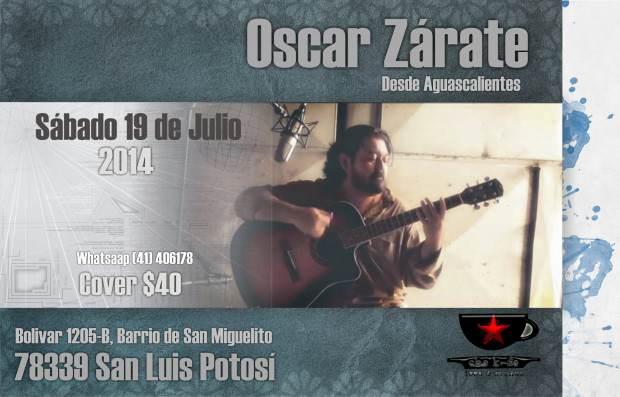 Oscar Zarate en SLP