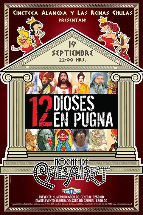 12 Dioses en Pugna en San Luis Potosí  @ Cineteca Alameda | San Luis Potosí | San Luis Potosí | México