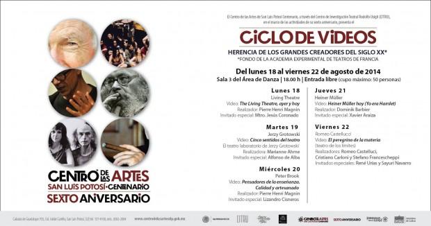 CICLO DE VIDEOS CITRU_6º ANIVERSARIO CEART
