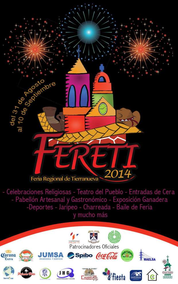 Feria Regional de Tierranueva 2014 @ Municipio de Tierranueva | Tierranueva | San Luis Potosí | México
