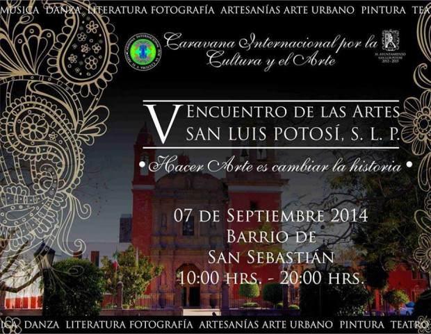 V Encuentro de las Artes San Luis Potosí