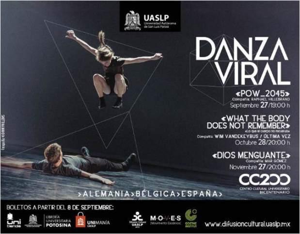 Danza Viral Pow_2045 @ Centro Cultural Bicentenario | San Luis Potosí | San Luis Potosí | México