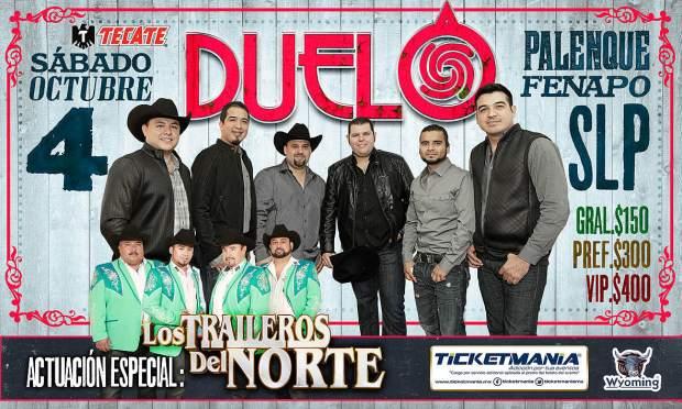 El Duelo y Los Traileros del Norte @ Palenque de la FENAPO | San Luis Potosí | San Luis Potosí | México