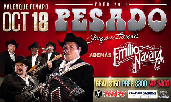 Pesado en San Luis Potosí  @ Palenque de la FENAPO | San Luis Potosí | San Luis Potosí | México