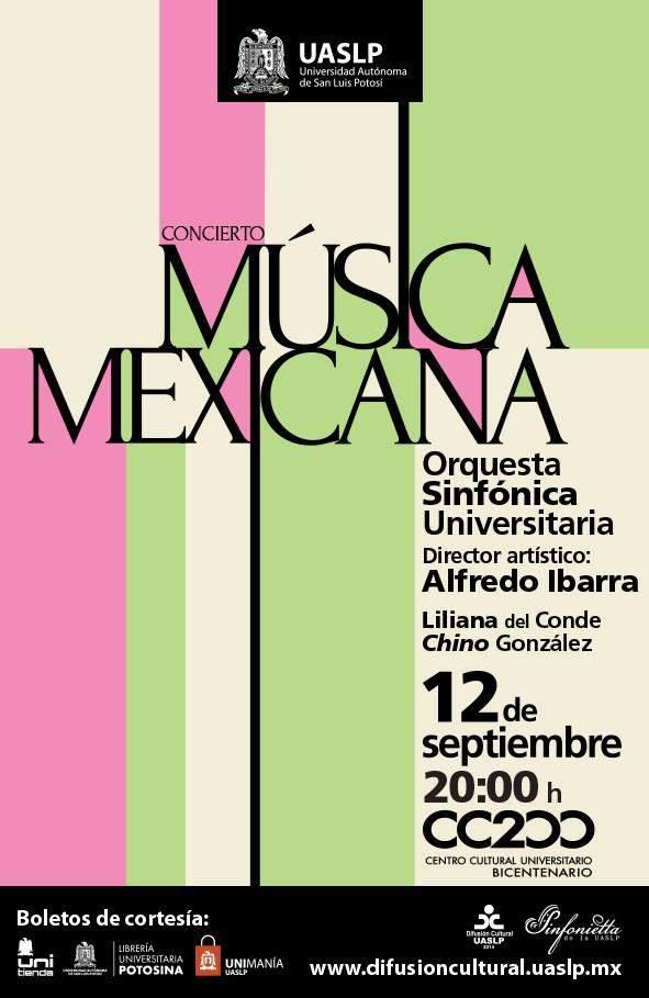 concierto música mexicana