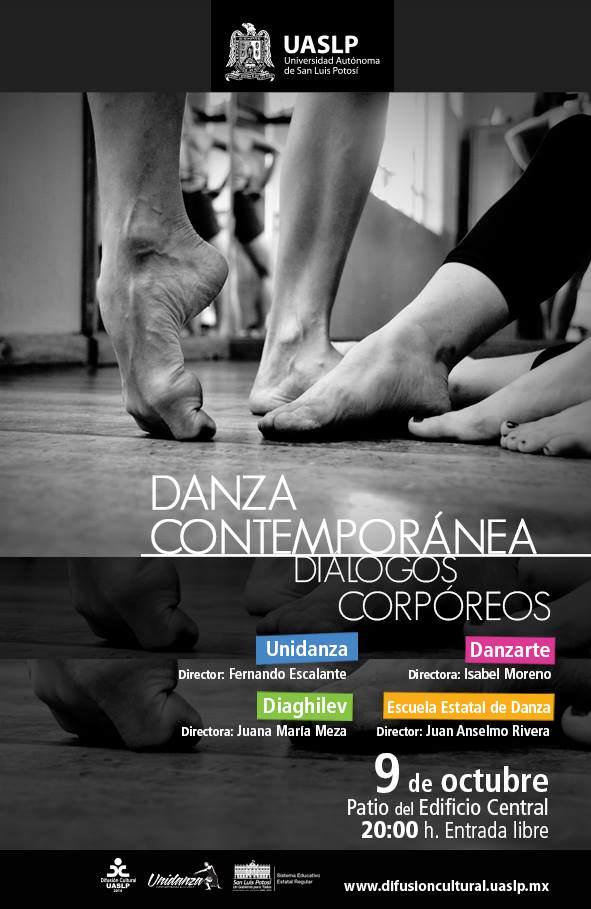 Danza Contemporánea - Diálogos Corpóreos  @ Patio Edificio Central | San Luis Potosí | San Luis Potosí | México