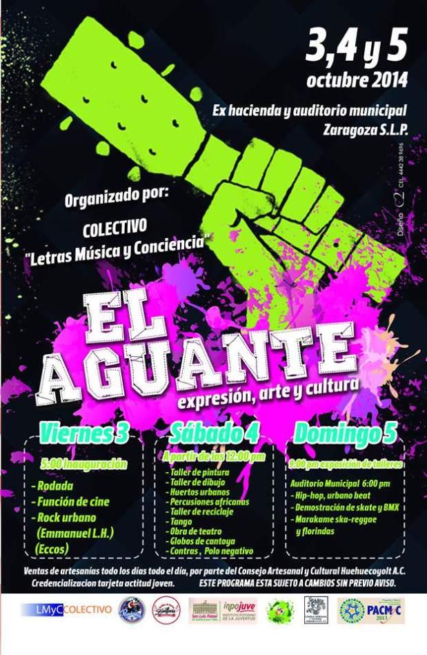 El Aguante @ Ex hacienda y auditorio municipal | San Luis Potosí | México