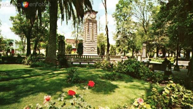 Jardin Colon San Luis Potosí