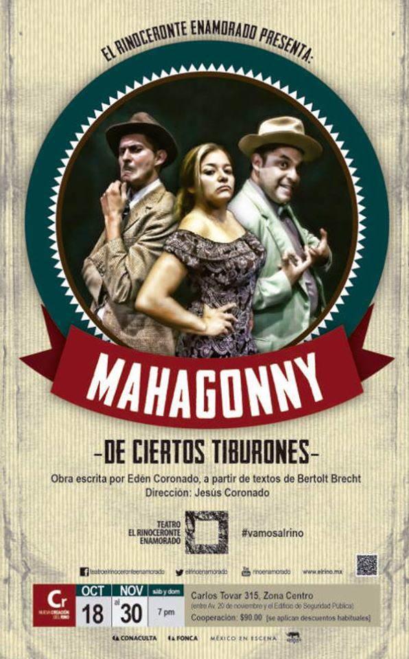 Mahagonny @ Teatro el Rinoceronte Enamorado | San Luis Potosí | San Luis Potosí | México