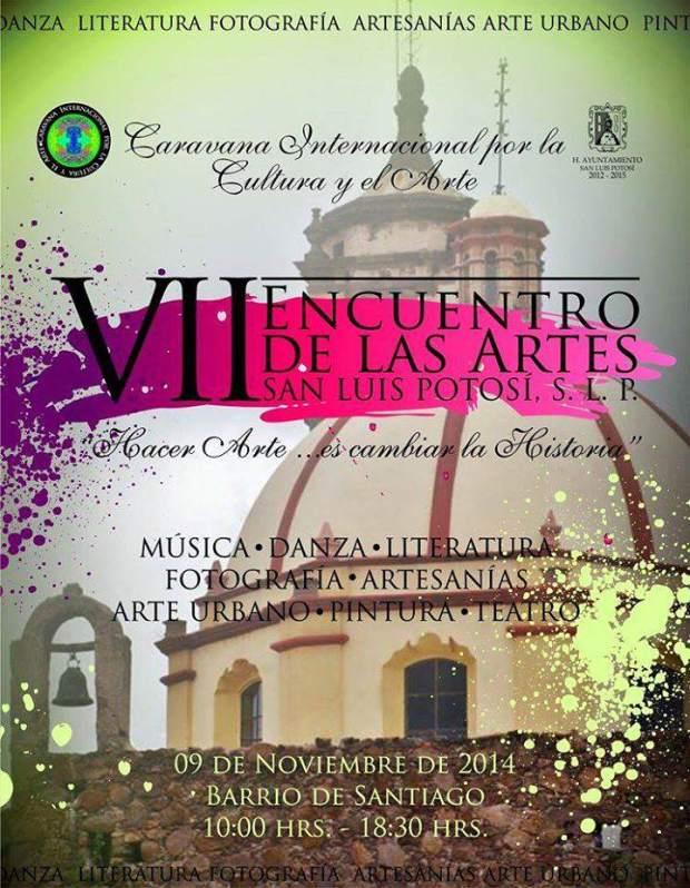 VII Encuentro de las Artes San Luis Potosí  @ Barrio de Santiago | San Luis Potosí | San Luis Potosí | México