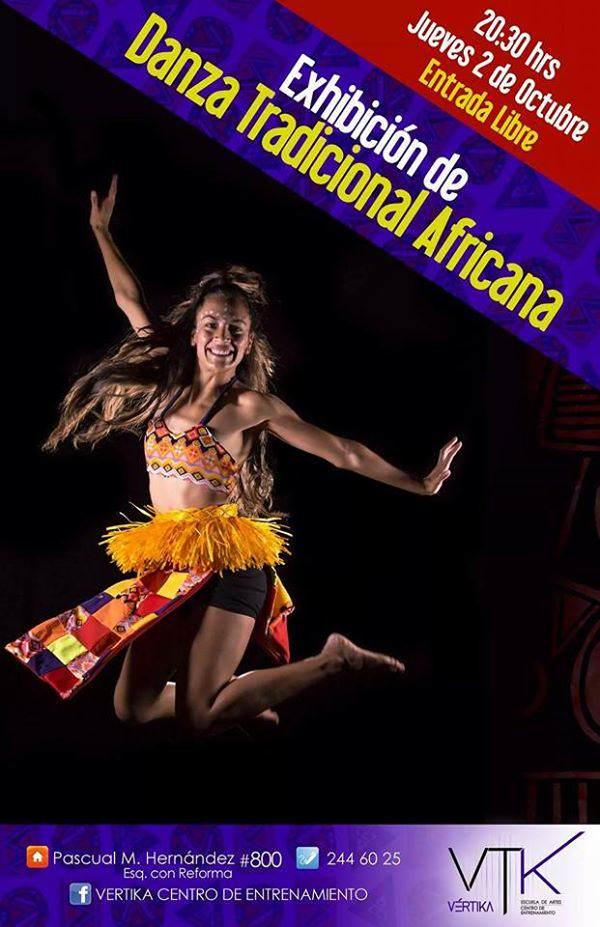 Exhibición de Danza Tradicional Africana @ Vertika | San Luis Potosí | San Luis Potosí | México