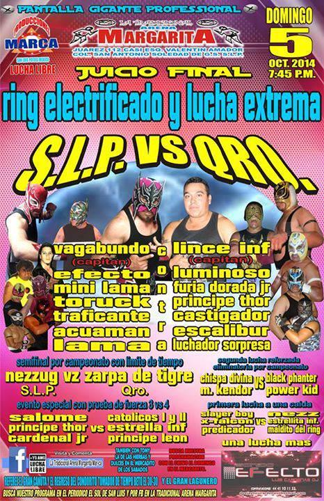 lucha libre slp vs qro