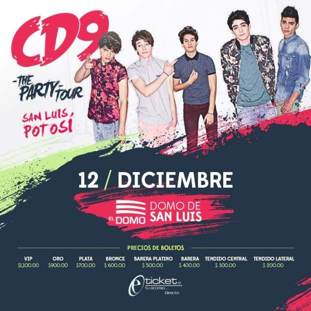 CD9 en San Luis Potosí  @ El Domo | San Luis Potosí | San Luis Potosí | México