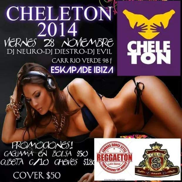 Cheleton 2014 @ Skapade Ibiza