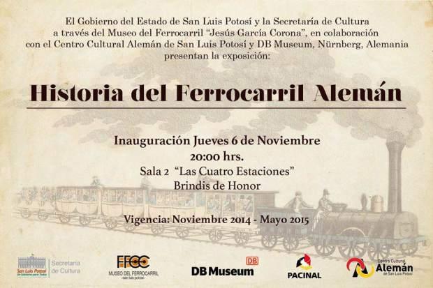 Historia del Ferrocarril Alemán @ Museo del Ferrocarril   San Luis Potosí   San Luis Potosí   México
