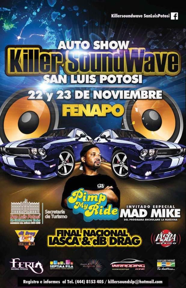 Killer Soundwave San Luis Potosí  @ FENAPO | San Luis Potosí | San Luis Potosí | México