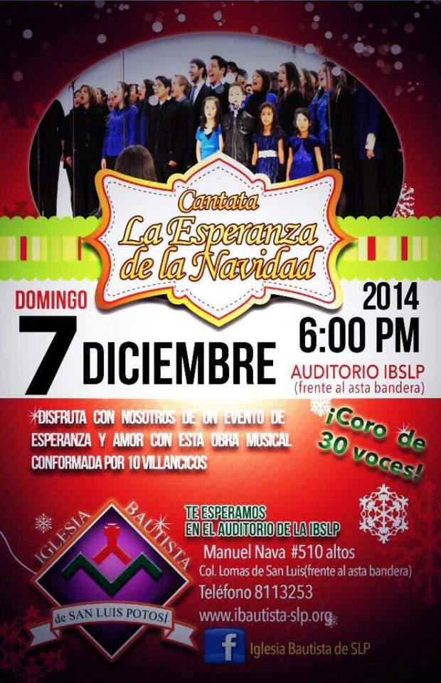 Cantata La Esperanza de la Navidad @ Auditorio Iglesia Bautista  | San Luis Potosí | San Luis Potosí | México