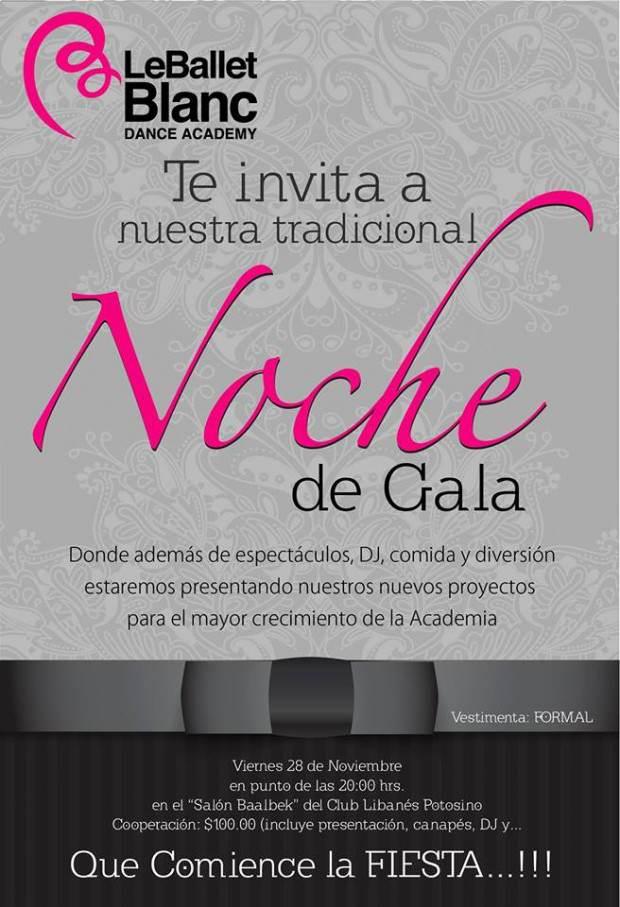 Le Ballet Blanc noche de gala
