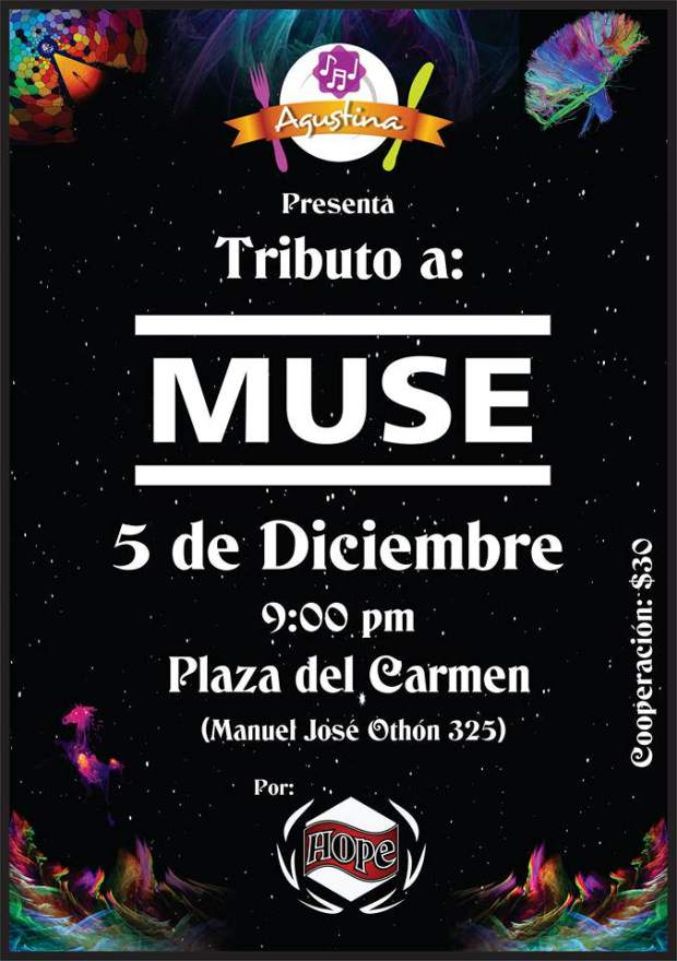 Tributo a Muse @ La Agustina | San Luis Potosí | San Luis Potosí | México