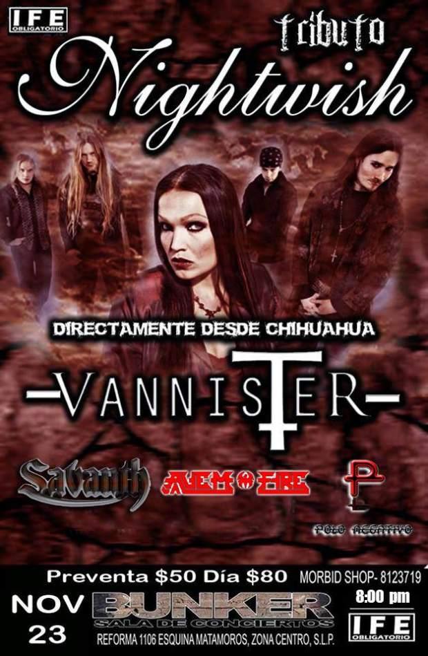 Tributo a Nightwish @ Steel Metal Bunker