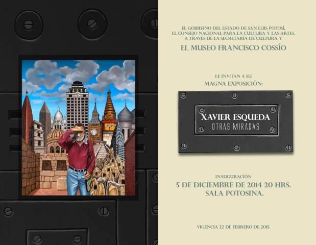 Xavier Esqueda - Otras Miradas @ Museo Francisco Cossío | San Luis Potosí | San Luis Potosí | México