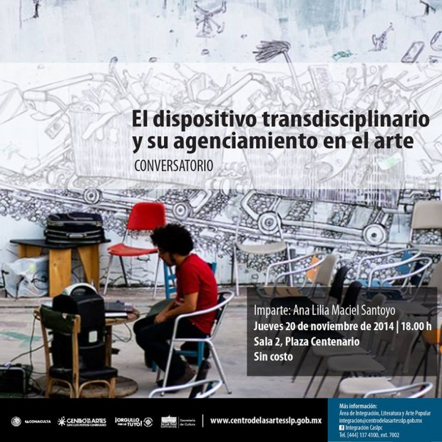 el dispositivo transidiciplario y su agenciamiento en el arte