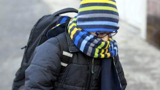 escuela frio