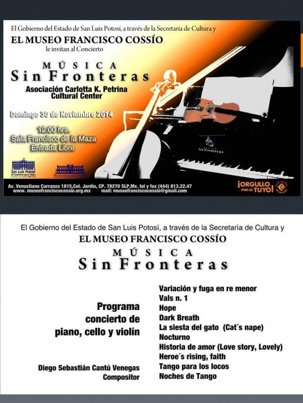 música sin fronteras