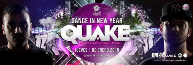 Dance in new year: Quake